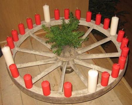 Adventskranz Wichern